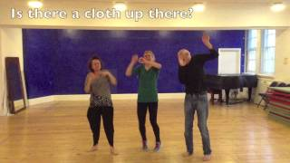 Drama game for Kids. Honey and Feathers. Physical Warm up & Numbers