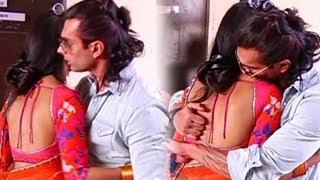 Karan Singh Grover and Jennifer Winget KISS & MAKE LOVE on Saraswatichandra's Set-- DON'T MISS IT !!