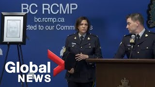 RCMP provide update on two B.C. murder cases   LIVE