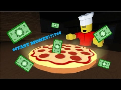 Work At Pizza Place How To Get Money Fast Roblox Playithub