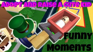 Roblox Adopt and Raise a Cute Kid Funny Moments