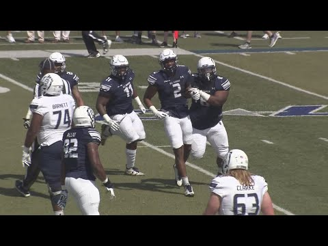 Xxx Mp4 ODU Wraps Up Spring Session With Blue White Scrimmage 3gp Sex