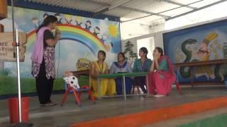 skit by teachers on children