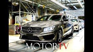 CAR FACTORY  : MERCEDES-BENZ CLA & B-CLASS PRODUCTION (Clip & Footage) l Kecskemét Plant Hungary