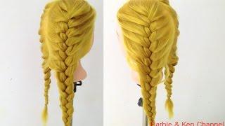 ถักเปียสวยๆ : Cute and Easy Braid [Ep.51] #hair -  เปียผมง่ายๆทรงง่ายๆสวยๆน่ารักๆ