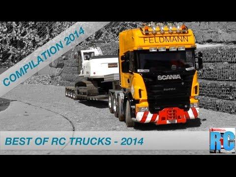 BEST OF RC TRUCK COMPILATION 2014 - funktionsmodellbau.ch | RC TRUCKS, WHEEL LOADER, EXCAVATOR