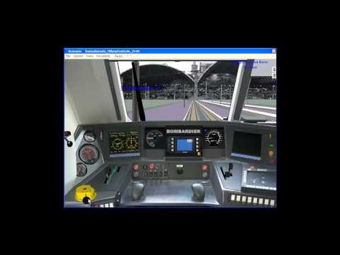 Simulatore Treno 5.01 e464 461 arrivo a milano centrale Sbaccheri