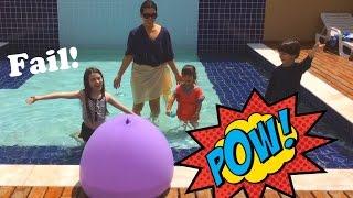 Balão Gigante de Água com surpresas - Water Giant Balloon - Fail [eng]