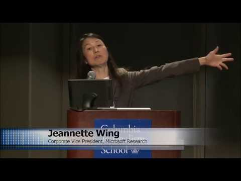 Computational Thinking with Jeannette Wing