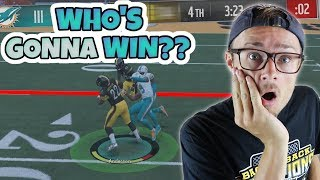 ONE POINT GAME COMES DOWN TO THE FINAL FEW SECONDS!! Madden 18 RTE ep. 7