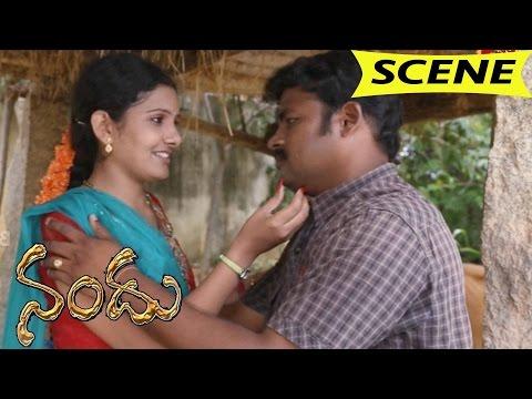 Rukku Illegal Affair With Bank Manager || Nandu Movie Scenes