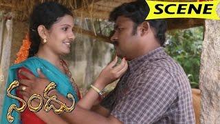Rukku Illegal Affair With Bank Manager    Nandu Movie Scenes