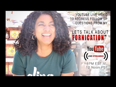 Xxx Mp4 🔴LIVE Let's Talk About Sex Addressing Your Questions Re The Fornication Video 3gp Sex
