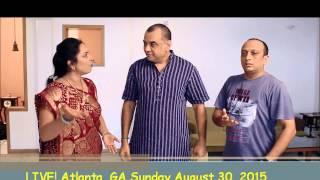 Paresh Rawal LIVE! Kishan vs. Kanhaiya RELOADED LIVE Atlanta, GA 8/30/15
