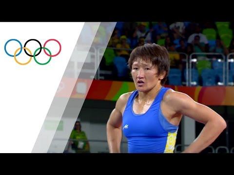 Rio Replay: Women's Freestyle 58kg Bronze Medal Match B