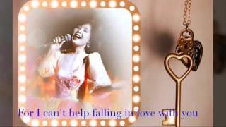 Can't Help Falling In Love    Teresa Teng/鄧麗君