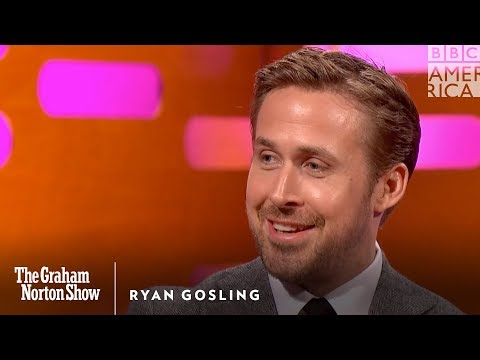 Download Ryan Gosling Cringes Watching His Old Dance Moves - The Graham Norton Show