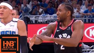 Toronto Raptors vs Orlando Magic - Game 4 - 1st Half Highlights | April 21, 2019 NBA Playoffs