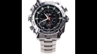 The Infrared Night Vision HD Spy Waterproof Watch Camera Instructions And Review