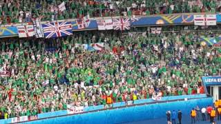 Will Grigg's on fire after Germany - Northern Ireland 21.06.16