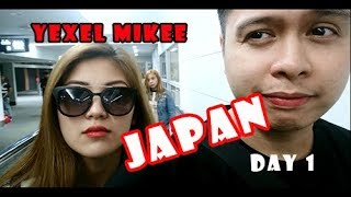 Yexel and Mikee Japan Sept. 2017 DAY1 VLOG #3