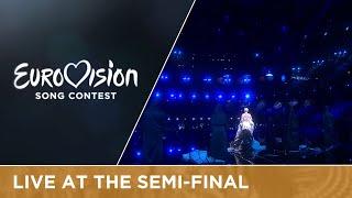 Nina Kraljić - Lighthouse (Croatia) Live at Semi - Final 1 of the Eurovision Song Contest