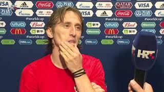 Luka Modrić se rasplakao poslije poraza od Francuske (Hrvatska - Francuska 2:4, finale SP)