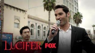 Lucifer Takes Over A Hollywood Tour Bus | Season 2 Ep. 9 | LUCIFER