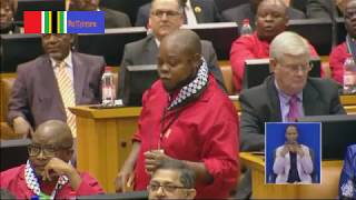 EFF and ANC: Breathalyzers, criminals, crooks, Malema withdraws
