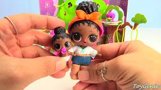 Hatchimals Papercraft Hatchy Hangouts Playset and LOL Doll Surprises