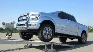 Ford Atlas Concept Truck Driving into Transporter