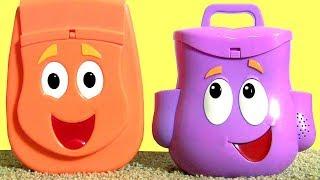 ToysBR Talking Dora the Explorer Backpack Surprise with Diego Backpack Surprise Toysbr