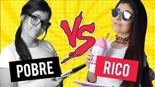 ESCOLA DE RICO VS ESCOLA DE POBRE