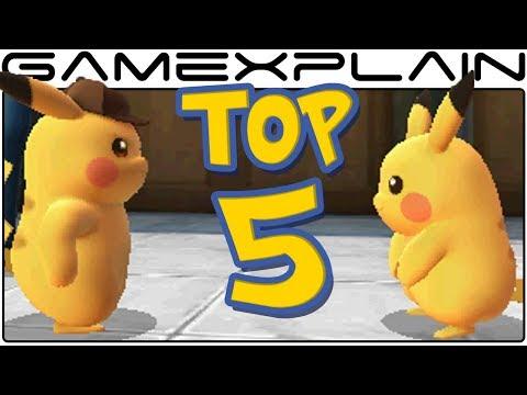 Detective Pikachu Top 5 Amusing Moments Cute & Funny Cutscenes