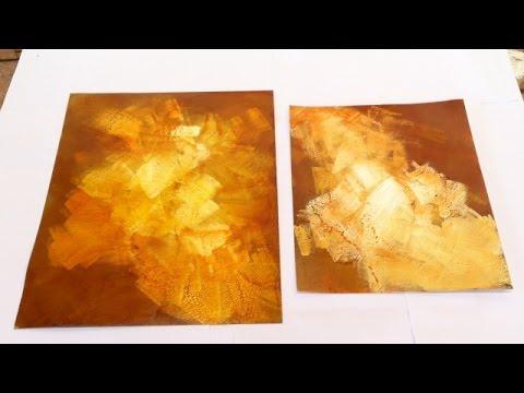Pintar é fácil Pintura em tela Abstrato Abstrato Express 1