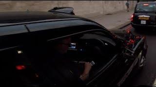 LR61VVT - Taxi driver drops his phone like a hot potato