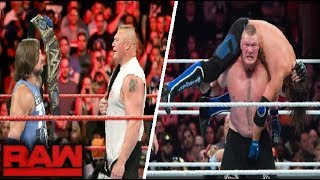 WWE Monday Night Raw - November 12 ,2018 Highlights - WWE Raw 12/11/1018 Highlights