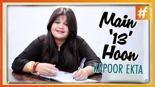 When Ekta Kapoor was 13 | Saloni Daini