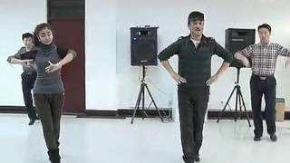 Chinese Xinjiang Dance Tutorial 新疆舞教学【6】Basic Actions Taught by Male Teacher 维族男老师教学基本动作