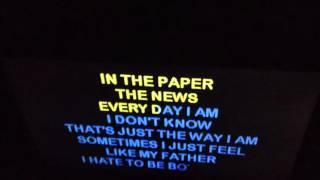 I Can't Rap Karaoke: Eminem-The Way I Am