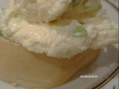 Rewelacyjna pasta z jajecznicy i sera