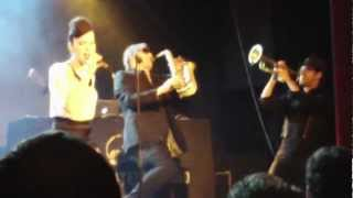 Parov Stelar Band - Intro / Oh Yeah (New Song) / Matilda - live in Zurich @ Kaufleuten 3.3.2012