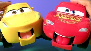 Disney Pixar Cars 3 Funny Talkers Cruz Ramirez & Lightning McQueen Car Toys for Kids by FUNTOYS