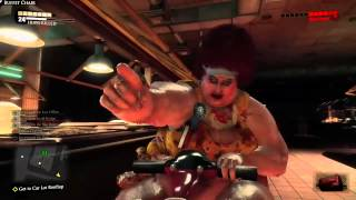 Dead Rising 3 - Fat Psycho Boss, Death By Vomit!