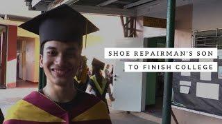 Shoe repairman's son to finish college as Summa Cum Laude