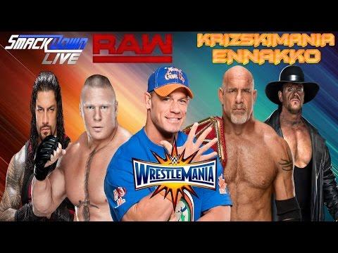 Xxx Mp4 The Krizski Ennakko WWE WrestleMania 33 3gp Sex