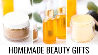 HOMEMADE BEAUTY GIFT IDEAS | 3 simple recipes
