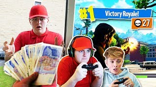 Tipping Pizza Delivery Guys $1,000 for Every Kill In Fortnite: Battle Royale...