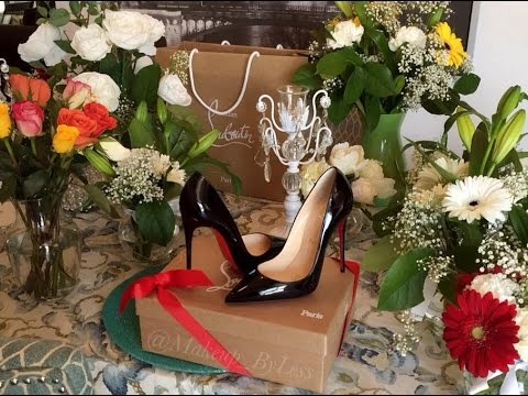Christian Louboutin So Kate 120mm (Black and Nude) Review size 37.5