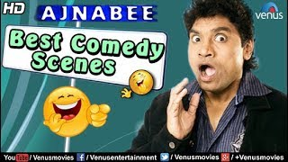 Best Comedy Scenes | Johnny Lever | Bollywood Comedy Movies | Ajnabee | Hindi Comedy Scenes